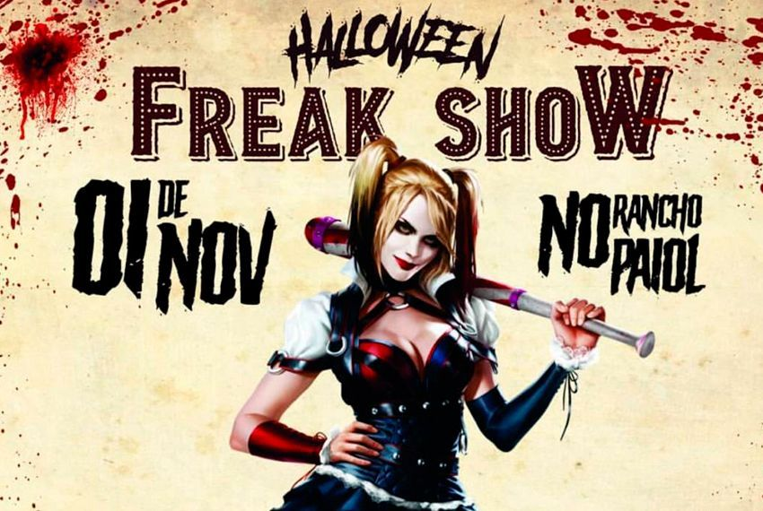 Halloween Freak Show: a noite dos horrores no Rancho Paiol
